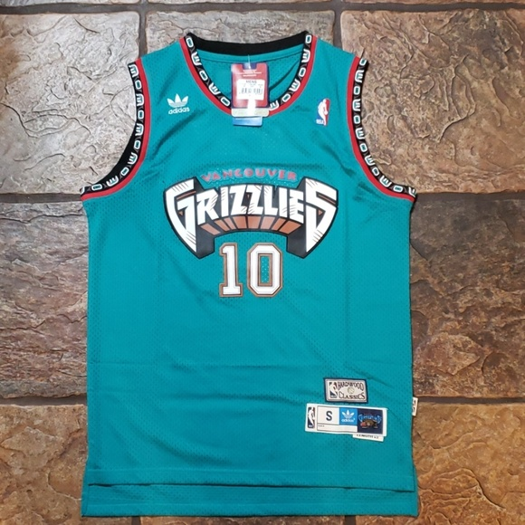 1a68dea9aaa Mike Bibby - Vancouver Grizzlies Jersey